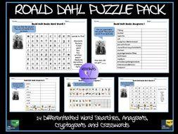 Roald Dahl Puzzle Pack