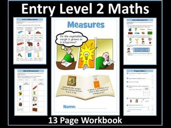 Measure - AQA Entry Level 2 Maths Workbook
