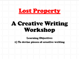 Lost Property - A Creative Writing Workshop