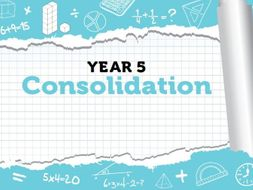Year 5 - Spring - Week 12 - Consolidation - White Rose