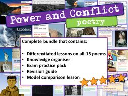 Power and Conflict Poetry GCSE