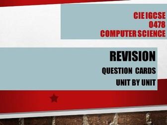Computer Science GCSE 0478- One mark Questions - Unit 1 Data Representation