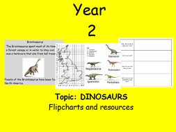 Year 2 Dinosaur Topic resources