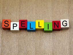 Year 7 Spellings Tracker