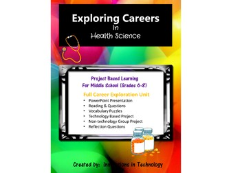 Exploring Careers:  Health Science