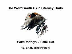 The WordSmith PYP Literacy Units (13)