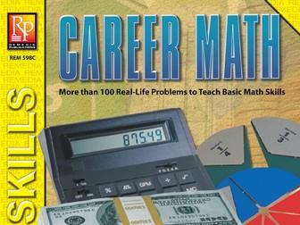 Career Math: Practical Practice Math