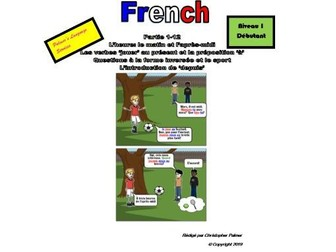 French for Adults: Beginners: Part 12: The verb 'jouer' in the present tense with 'à' and 'depuis'