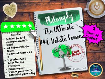 P4C:  P4C Debate