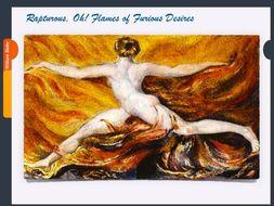 William Blake ~ Art History  ~ 141 Slides ~ Romantic Age Poet Artist ~ Public Domain Art