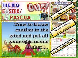 Spanish MFL Easter Quiz
