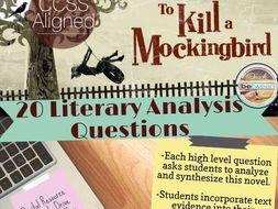 Essay type questions on to kill a mockingbird