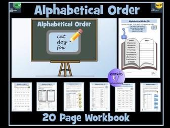 Alphabetical Order Workbook