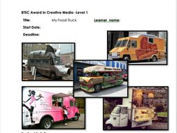 Food Truck Project/ Design, graphic