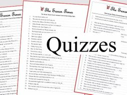 1066 Spring, Autumn and New Year Quizzes with Answers