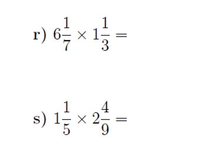 Area Model: Multiply Mixed Numbers | Worksheet | Education.com