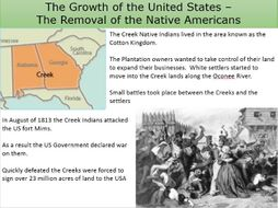 reason for indian removal act