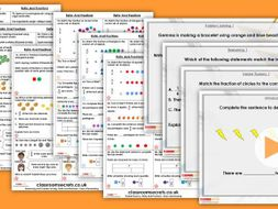 Year 6 Ratio and Fractions Spring Block 6 Step 2 Maths Lesson Pack