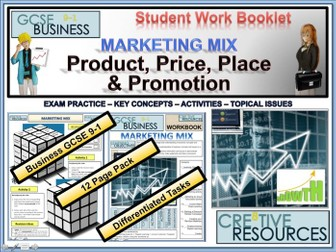 Marketing Mix ( Product Price Place & Promotion )
