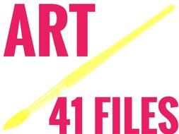 Art 2019. 41 resources