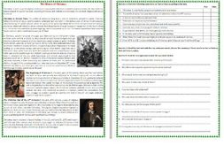 the history of christmas reading comprehension worksheet