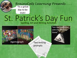 St. Patrick's Day:  Art Projects, Writing Prompts, Spelling Games