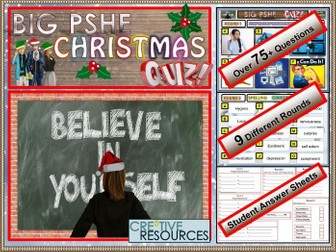 PSHE Christmas Quiz