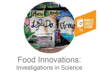Food Innovation for the Global Goals