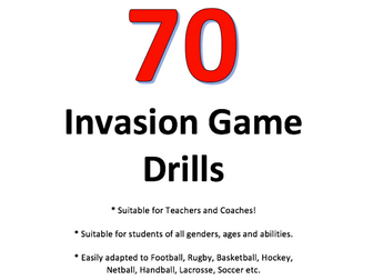 70 Invasion Game Drills