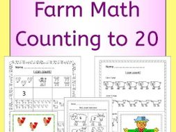 Farm Math - Counting to 20