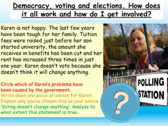 Democracy +Voting : British Values