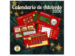 CALENDARIO ADVIENTO 2020 ADVENT CALENDAR. Navidad. Christmas. All levels