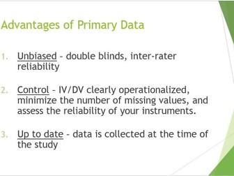Data Collection AQA