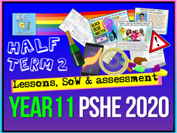 Year 11 PSHE SoW 2