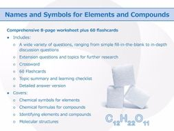 Names and symbols for elements and compounds worksheet and names and symbols for elements and compounds worksheet and flashcards urtaz Images