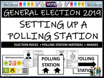 Polling Station Display Kit - General Election 2019
