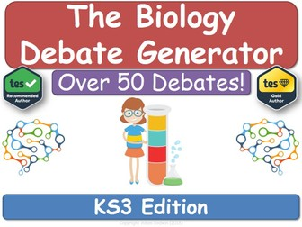The Biology Debate Generator (KS3 Biology)