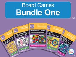 Board Game BUNDLE   Fractions, Add & Subtract, Bonds, Decimals, Factors & Primes