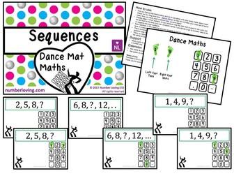 Sequences (Dance Mat Maths)