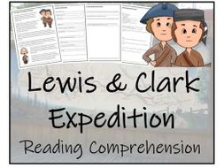 UKS2 History - Lewis & Clark Expedition - Reading Comprehension Activity