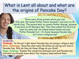 Shrove Tuesday + Lent