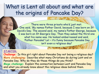 Shrove Tuesday + Lent