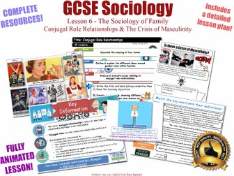 Conjugal Role Relationships - Sociology of Family - L6/20 [ AQA GCSE Sociology - 8192] Families