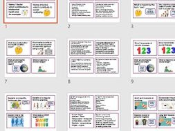 BTEC Tech Award Health and Social Care Component 3 Revision cards