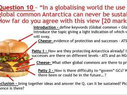 AQA Globalisation and Global Governance Assessment + Feedback.