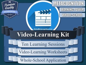 Video-Learning Metacognition Pack [Metacognitive Tool - 13/20]