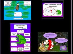 Numerical Reasoning Pack Reception Class