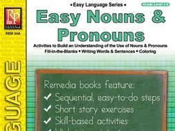 Easy Nouns & Pronouns: Easy Language Series