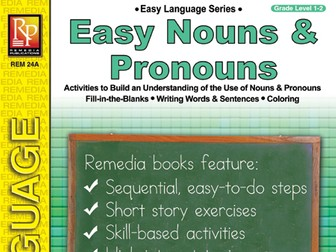 Easy Nouns & Pronouns: Easy Language Series