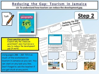 Reducing the Gap: Tourism in Jamaica